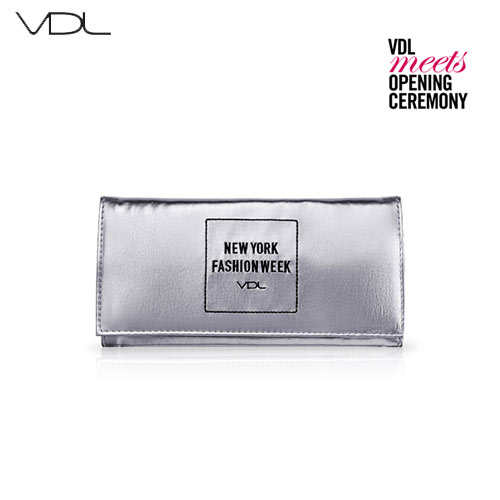 VDL Metalic Brush Pouch (2016 New York Fashion Week collection) 1ea,  VDL
