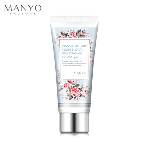 MANYO FACTORY Moist Floral Wax Coating Cream(Light) 50ml, MANYO FACTORY
