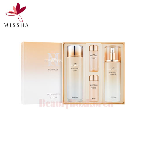 MISSHA Time Revolution Nutritious Special Set 4items