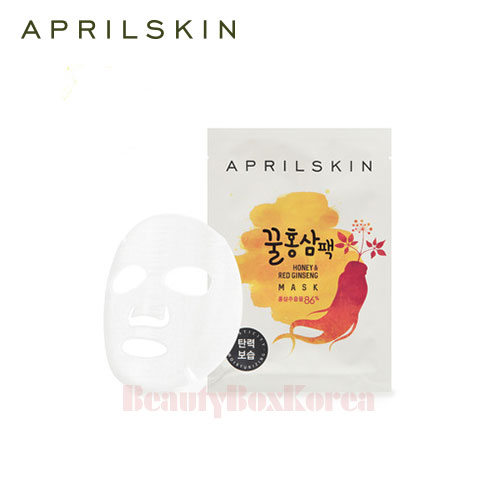 APRIL SKIN Honey & Red Ginseng Mask 25g, APRIL SKIN
