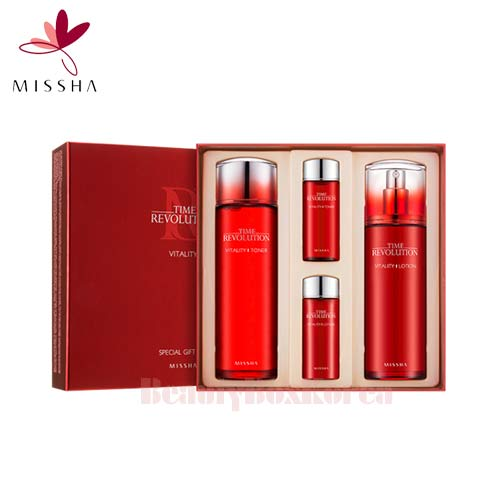MISSHA Time Revolution Vitality Special Set 4items,MISSHA,Beauty Box Korea