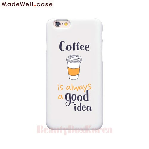 MADEWELL-CASE 1st time lucky Coffee is always a good idea, MADEWELL-CASE