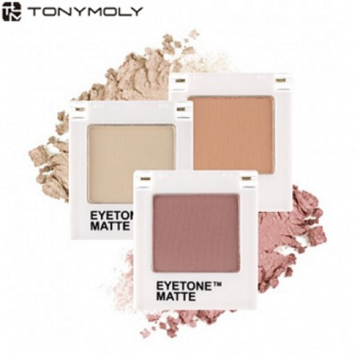 TONYMOLY Eyetone Single Shadow [Matte] 1.7g, TONYMOLY