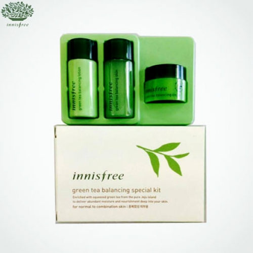[mini] INNISFREE Green tea balancing special kit 3 items (for normal to combination skin), INNISFREE
