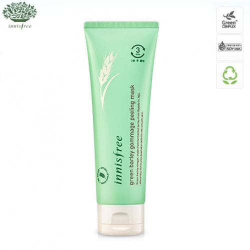 INNISFREE Green Barley Gommage Peeling Mask 120ml, INNISFREE