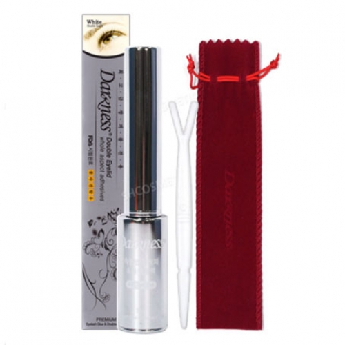 DARKNESS Double Eyelid Whole Aspect Adhesives (Premium Eyelash Glue and Gel) 7ml, DARKNESS