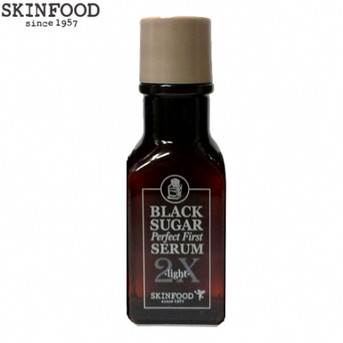 [mini]SKINFOOD Black Sugar Perfect First Serum 2X Light 30ml, Skinfood