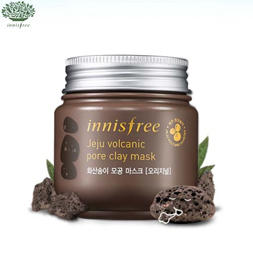 INNISFREE Jeju Volcanic Pore Clay Mask [Original] 100ml , INNISFREE