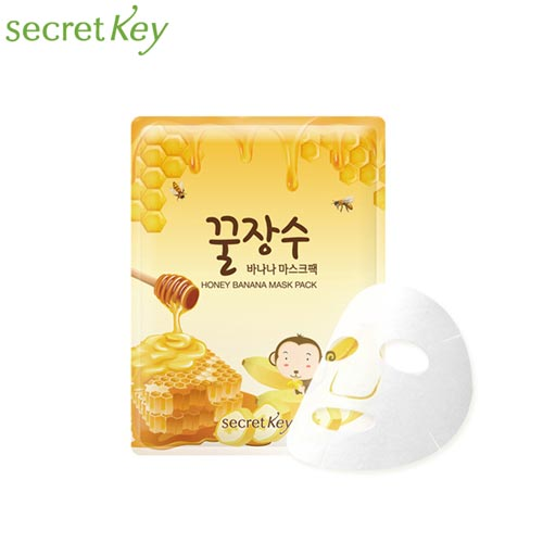SECRET KEY Honey Banana Mask 25g, SECRET KEY