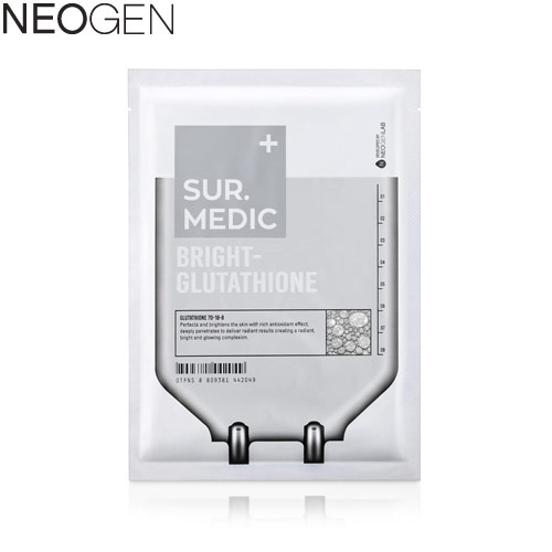 NEOGEN Bright Glutathione Mask 23ml, NEOGEN