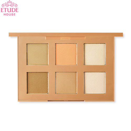 ETUDE HOUSE Personal Color Contouring Palette Powder 3g*6colors, ETUDE HOUSE