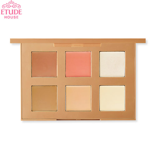 ETUDE HOUSE Personal Color Contouring Palette Cream 3g*6colors, ETUDE HOUSE