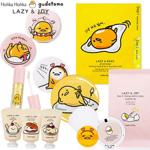 HOLIKA HOLIKA Gudetama Edition Value Pack 6items,Own label brand,Beauty Box Korea