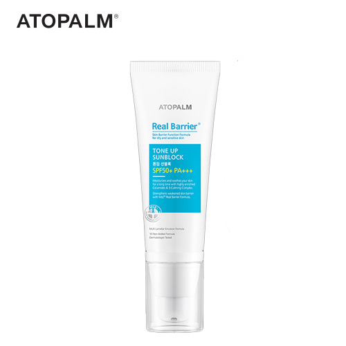 ATOPALM Real Barrier Tone Up Sunblock SPF50+ PA+++ 40ml , ATOPALM