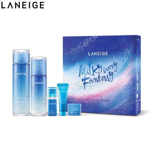LANEIGE Basic Duo Set_Moisture 5items [Holiday Limited Edition] (Laneige Milkyway Fantasy) , LANEIGE