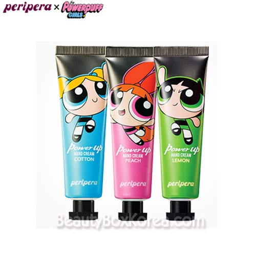 PERIPERA Power Up Hand Cream 30ml [Powerpuff Girls Limited], PERIPERA