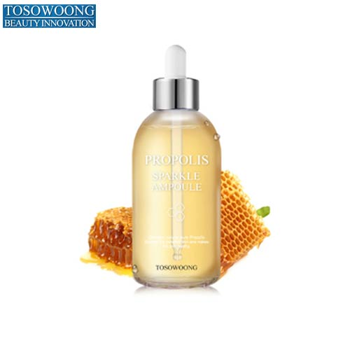 TOSOWOONG Propolis Sparkle Ampoule 100ml, TOSOWOONG