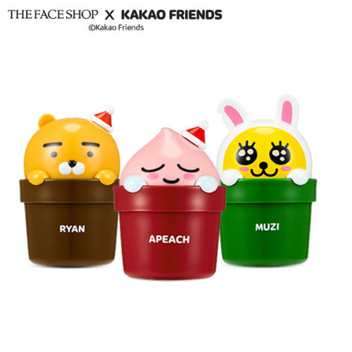 THE FACE SHOP KAKAO FRIENDS Holiday Character Hand Cream 30ml, THE FACE SHOP