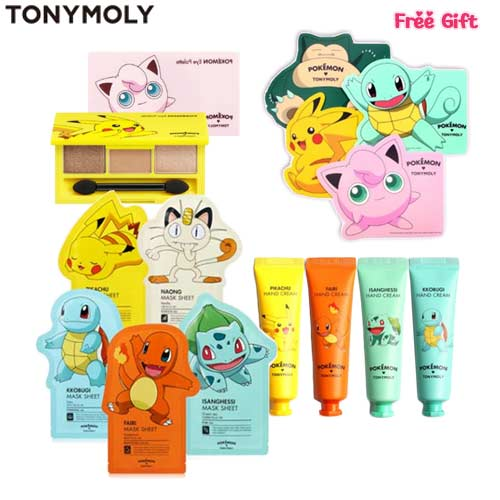 TONYMOLY Pokemon Beauty Box Korea
