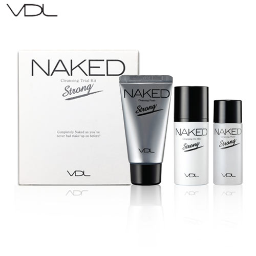 [mini] VDL NAKED Cleansing Trial Kit 3items ,  VDL