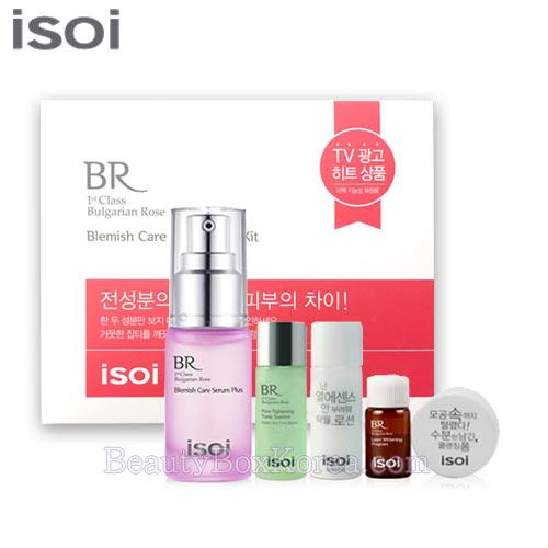 beauty box korea isoi bulgarian rose blemish care serum plus kit 5