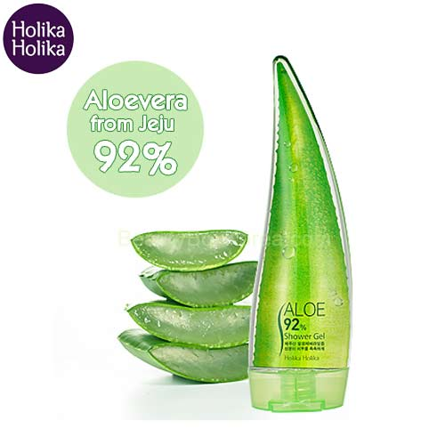 HOLIKA HOLIKA Aloe 92% Shower Gel 250ml, HOLIKAHOLIKA
