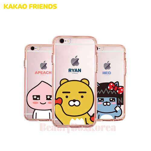 KAKAO FRIENDS 9Items Cutie Jell Hard Phone Case,KAKAO FRIENDS,Beauty Box Korea
