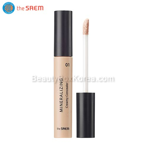 The SAEM Mineralizing Creamy Concealer SPF30 PA++, THE SAEM