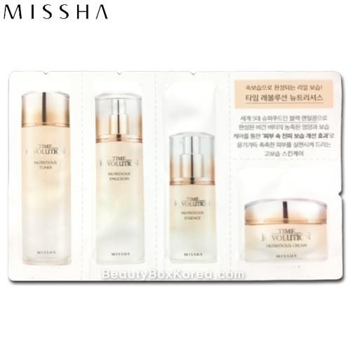 Beauty Box Korea - [mini] MISSHA Time Revolution Nutritious ...