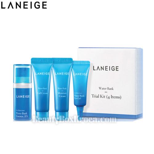 [mini] LANEIGE Water Bank Trial Kit 4 items, ...