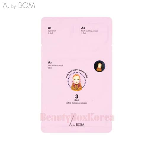 A. BY BOM Ultra Moisture Mask 1ea, Own label brand