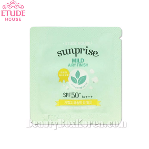 [mini]ETUDE HOUSE Sunprise Mild Mild Airy Finish SPF 50+PA+++ 1ml*10ea