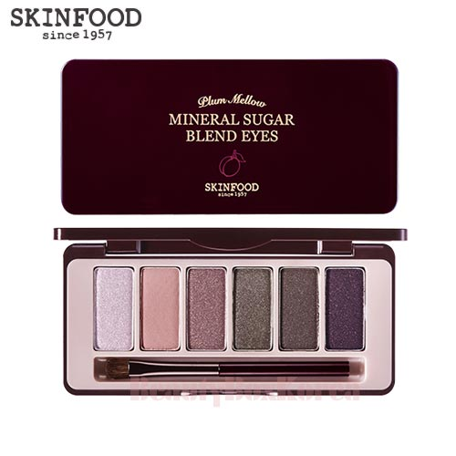 SKINFOOD Mineral Sugar Blend Eyes #07 Plum Mellow 1.5g*6