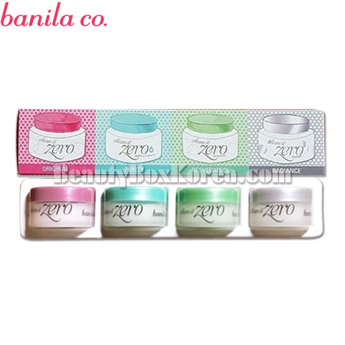 [mini] BANILA CO. Clean It Zero Special Kit 4items,BANILA CO.