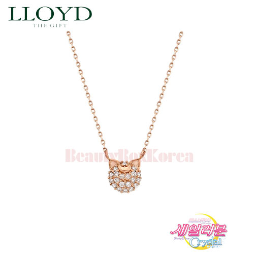 LLOYD Luna & Artemis Necklace 1ea LNT18106T  [LLOYD x Sailor Moon]
