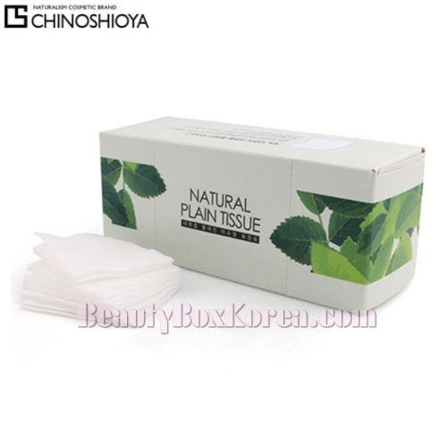 CHINOSHIO Natural Plain Tissue 81ea,Beauty Box Korea