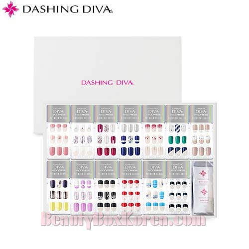 DASHING DIVA Magic Press Premium Slim Fit Set 13items (Ver2),Beauty Box Korea