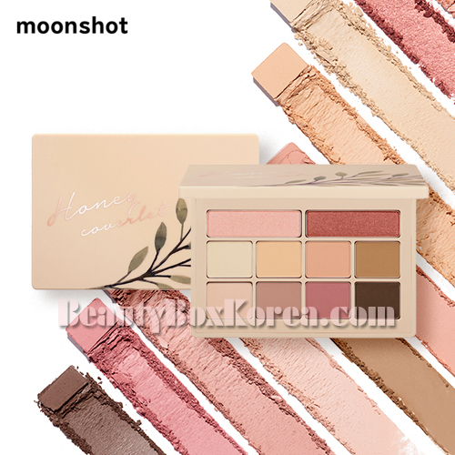 MOONSHOT Honey Coverlet Eyeshadow Palette 9.5g