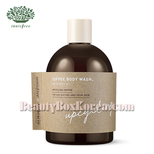 INNISFREE Coffee Body Wash 400ml [ANTHRACITE Edition]