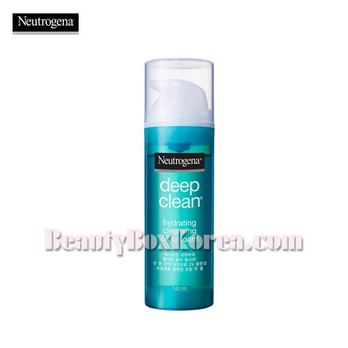 NEUTROGENA Deep Clean Hydrating Cleansing Oil to Foam 142ml