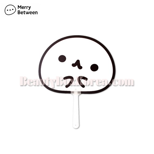 MERRY BETWEEN Hand Fan 1ea