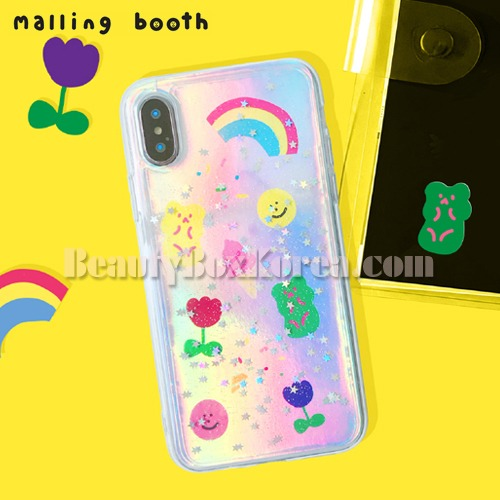 MALLING BOOTH Star Twinkle Jelly Film Case Set 4items