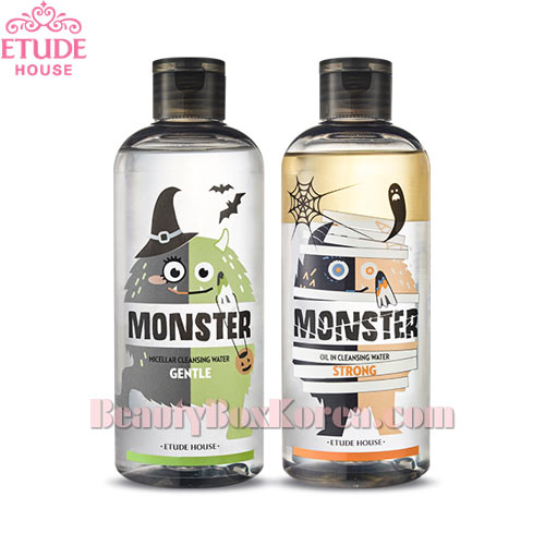 ETUDE HOUSE Monster Cleansing Water Duo Special Set 300ml*2ea [Halloween Edition]
