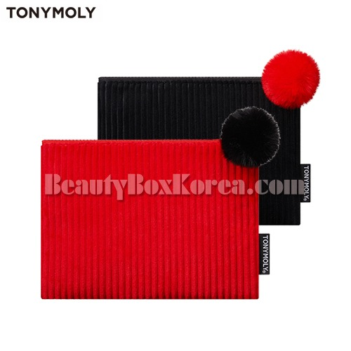 TONYMOLY Corduroy Holiday Pouch 1ea[2018 Holiday Edition]