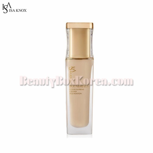 ISA KNOX Cover Supreme Creamy Foundation 30ml