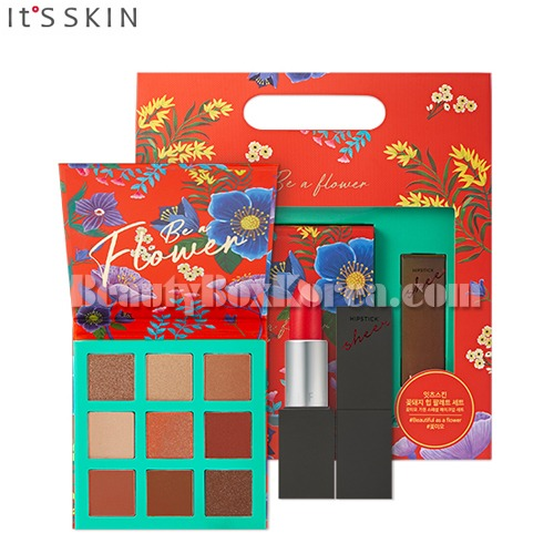 IT'S SKIN Be a Flower Palette&Hipstick Sheer[Be a Flower Limited Edition][Online Excl.]