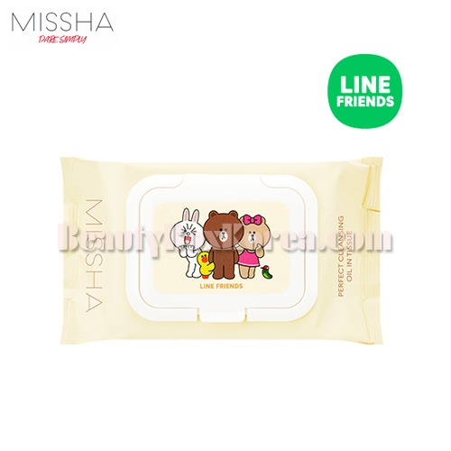 MISSHA Perfect Cleansing Tissue 30ea[LINE FRIENDS Edition]