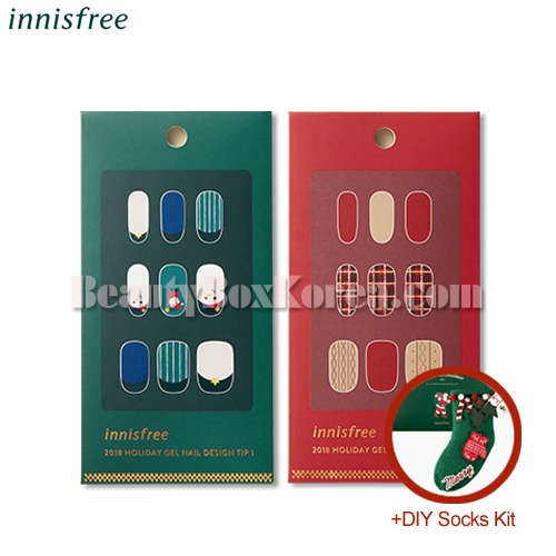 Beauty Box Korea Innisfree Gel Nail Design Tip 1ea Diy Socks Kit