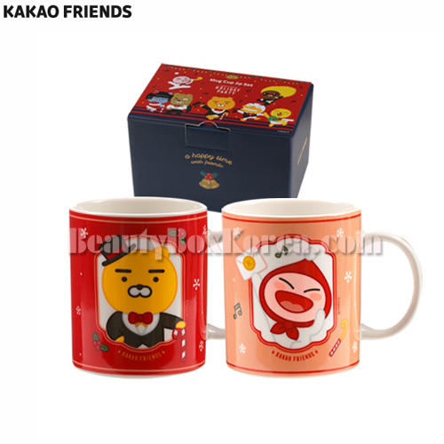 KAKAO FRIENDS Holiday Mug Set 2items