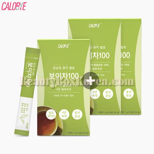 Beauty Box Korea - CALOBYE Pure Pu-erh Tea 28ea+14ea ...  Beauty Box Kore...